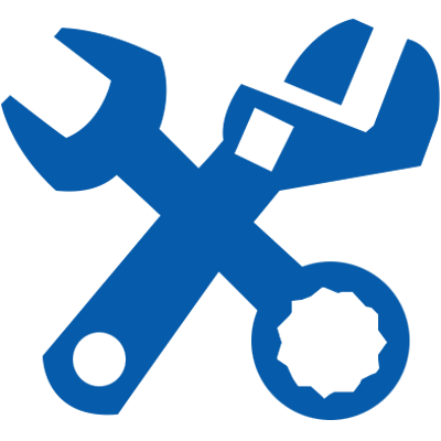 Commercial Plumbing Icon Blue
